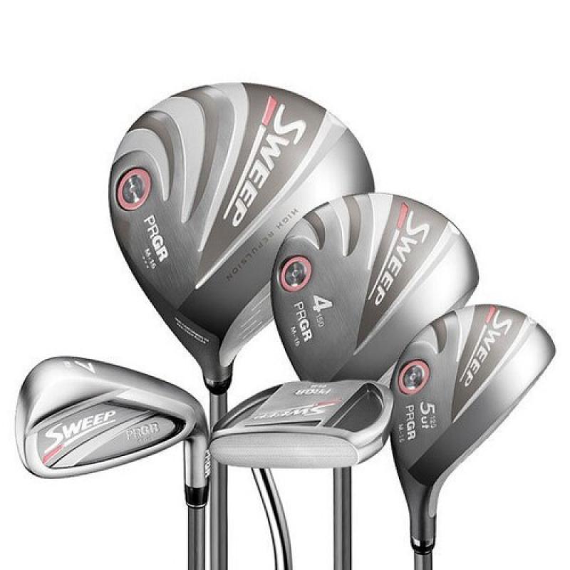 Bộ Gậy Golf Nữ PRGR SWEEP M16 Lady Full Set