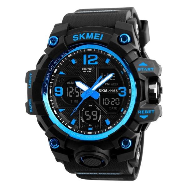 Nơi bán ĐỒNG HỒ NAM SKMEI 1155B KIM ĐIỆN TỬ, đồng hồ đeo tay, đồng hồ điện tử