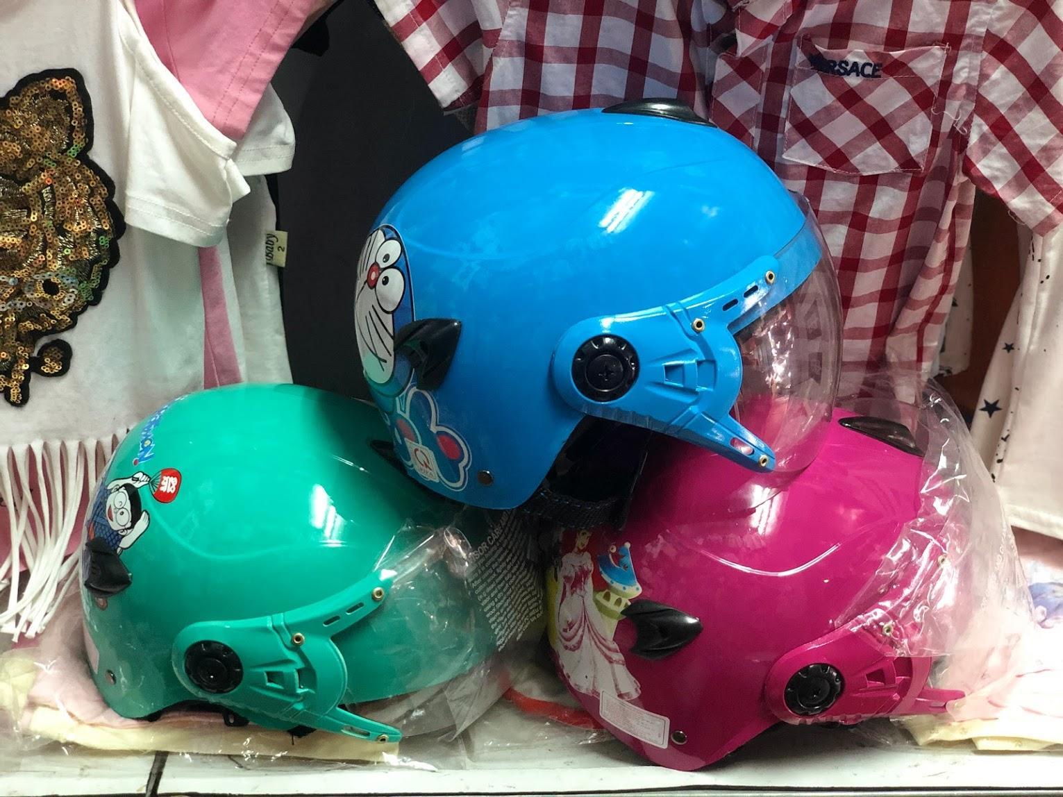 Giá bán Mũ Bảo hiểm trẻ em cho bé trai và bé gái (nhiều màu ) HoanStore
