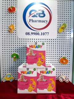 Siro Hibaby Cải thiện hệ tiêu hóa trẻ em hộp 30 gói (10ml) thumbnail