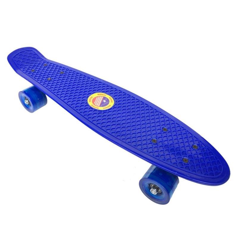 Ván trượt Skateboard Penny thể thao siêu đẹp, không đèn (Màu ngẫu nhiên)