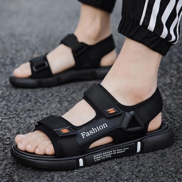 Dép sandal nam Fashion quai ngang đế êm thoáng khí giá rẻ