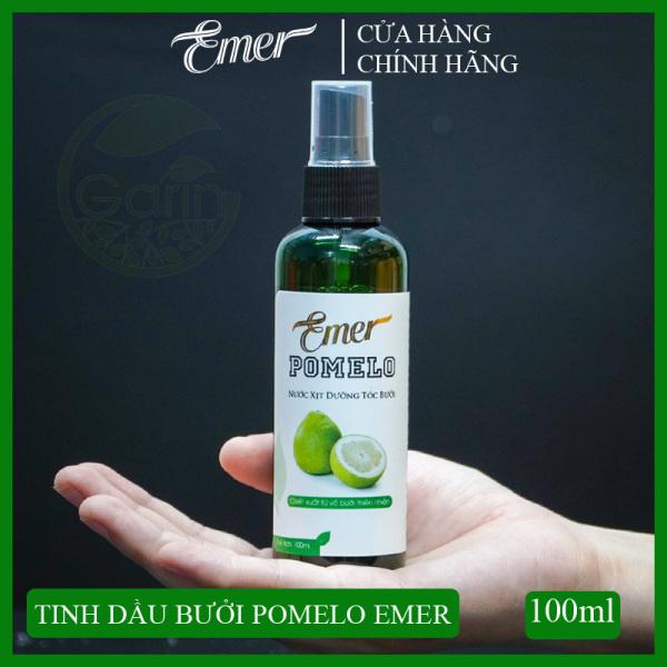 Tinh dầu bưởi xịt mọc tóc Pomelo 100ml giúp giảm rụng tóc, kích mọc tóc nhanh cho mái tóc dày và dài hơn gấp 2 lần đến 3 lần nhập khẩu