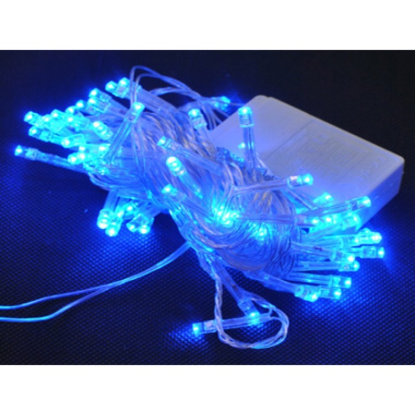 Bộ 3 dây đèn Led nhấp nháy nhiều màu trang trí Noel Tết 4m8m