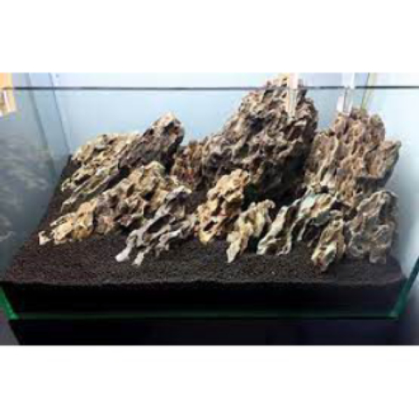 Đá tiger- đá trang trí thuỷ sinh (1kg)