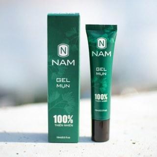 Gel ngừa mụn NAM 15ml giảm mụn viêm thâm đầu đen, không để lại vết thâm sẹo, hiệu quả sau 7 ngày - Daily Natural thumbnail