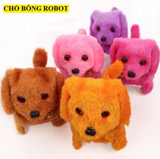 [HOT] Chó Nhồi Bông Robot Điện Tử Đồ Chơi Xinh Xắn Đáng Yêu thumbnail