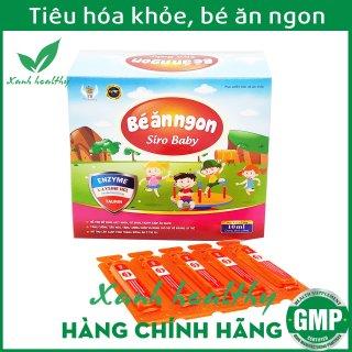 Siro Bé Ăn Ngon - Bổ sung axit amin, enzym giúp bé ăn ngon miệng, giảm biếng ăn, tiêu hóa khỏe, hấp thụ dinh dưỡng tối đa - Hộp 20 ống 10ml thumbnail