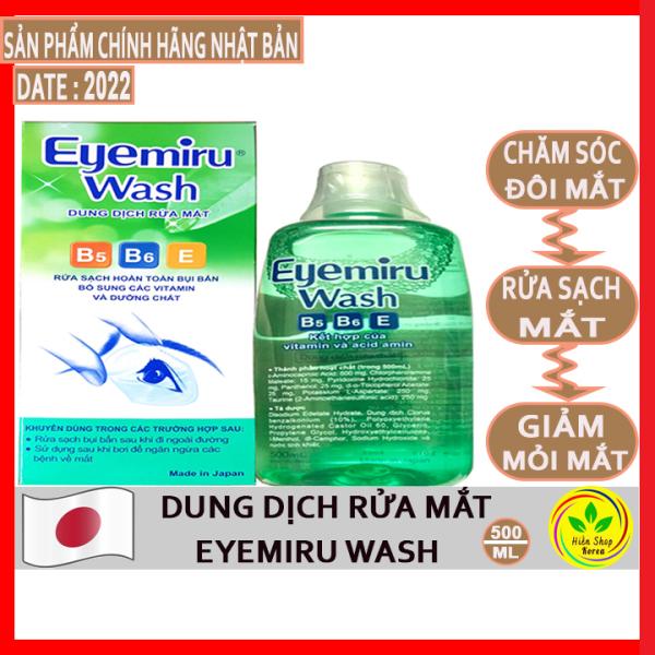 Dung dịch rửa mắt eyemiru nhật bản 500ml