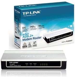 Modem ADSL 2+ Tplink TD-8840T 4 cổng thumbnail