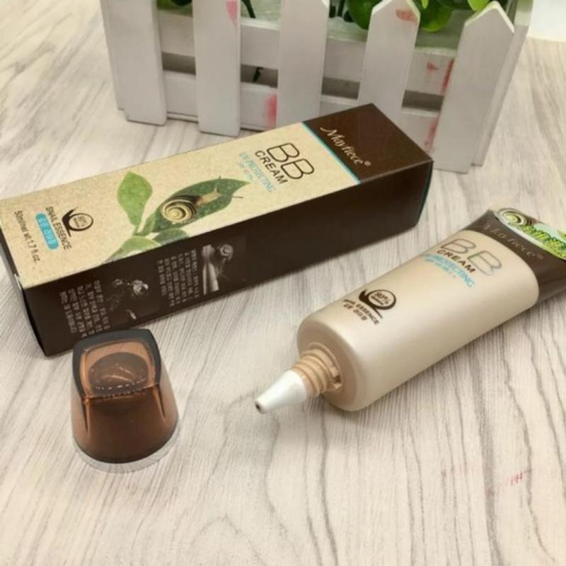 BB CREAM ỐC SÊN MAYFIECE UV PROTECTING SPF 45 PA ++ /50ML
