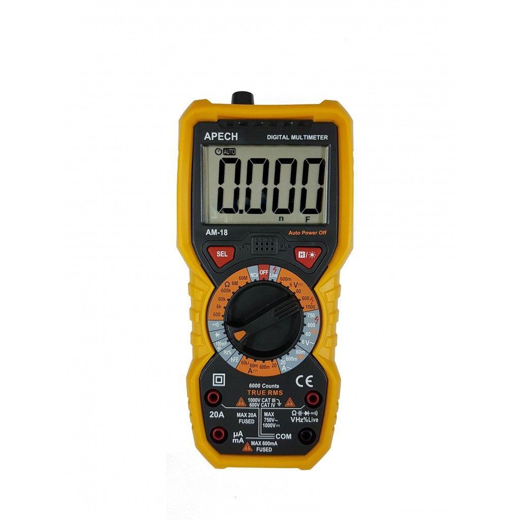 Đồng hồ vạn năng số APECH AM-18 (TRUE-RMS)
