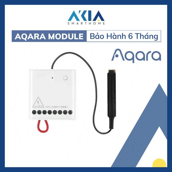[HCM]Module Relay thông minh 2 Kênh Aqara Wireless Relay Controller 2 Channels - Biến thiết bị thường trở thành thông minh bật tắt thông qua App hẹn giờ tắt mở