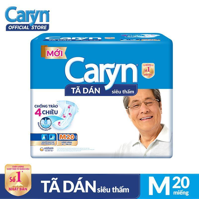 Tã dán người lớn Caryn M20 chính hãng