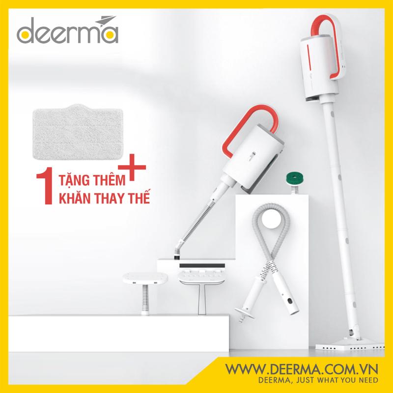 [deerma.com.vn] Máy vệ sinh hơi nước cầm tay đa chức năng DEERMA Dem-ZQ600/ZQ610