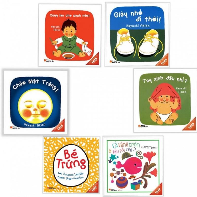 Sách Ehon Nhật Bản - Giờ Chơi Của Bé ( Trọn bộ 6 cuốn)