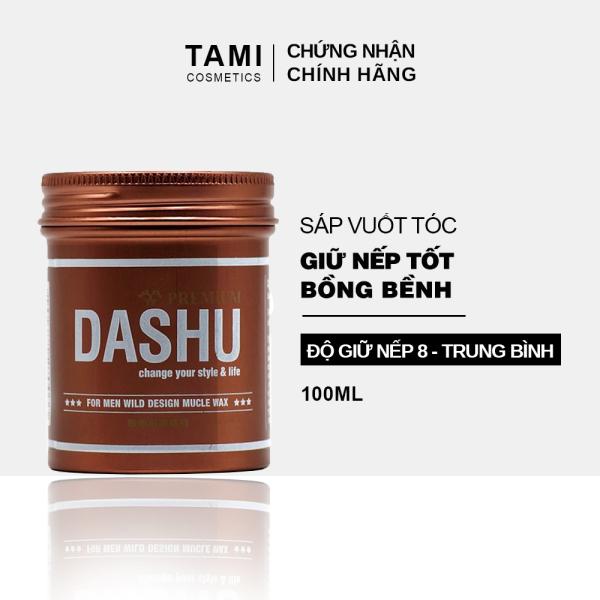 Sáp vuốt tóc DASHU For Men Wild Design Mucle Wax Giữ nếp tốt Không gây bết dính Độ bóng tự nhiên TM-SAP05