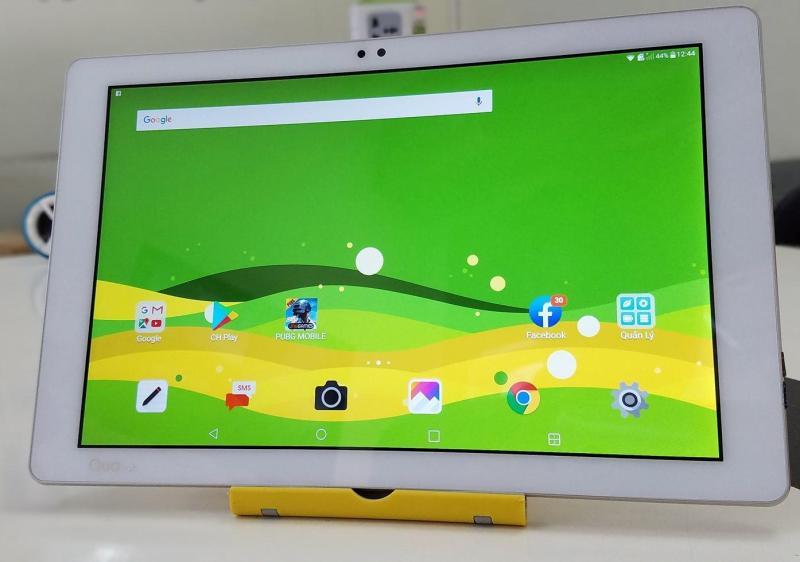 Máy tính bảng LG Quatab 10 inch đến từ Nhật Bản (trắng)