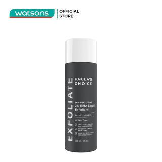 Dung Dịch Loại Bỏ Tế Bào Chết Paula's Choice Skin Perfecting 2% BHA 118ml