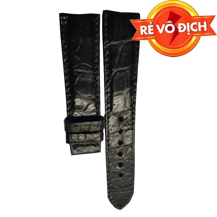 Nơi bán Dây đồng hồ da cá sấu Ruby Luxury RLS-DDH