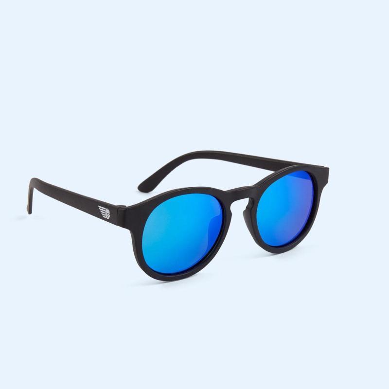 Mua Kính chống tia cực tím có tròng kính phân cực trẻ em Babiators – The Agent, Tráng gương xanh, 6-10 tuổi