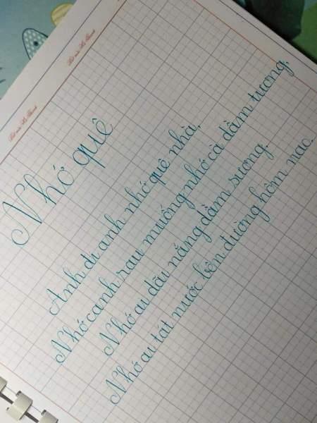 Mua Sổ viết chữ đẹp Hà Thanh 3mm, 4mm  ô ly to (100 trang, khổ A4)[𝑴𝑰𝑬̂̃𝑵 𝑺𝑯𝑰𝑷]