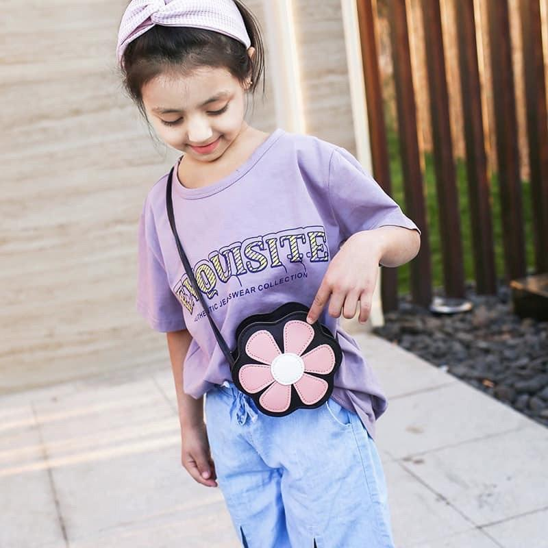 Giá bán Túi đeo chéo cho bé gái hình hoa siêu xinh