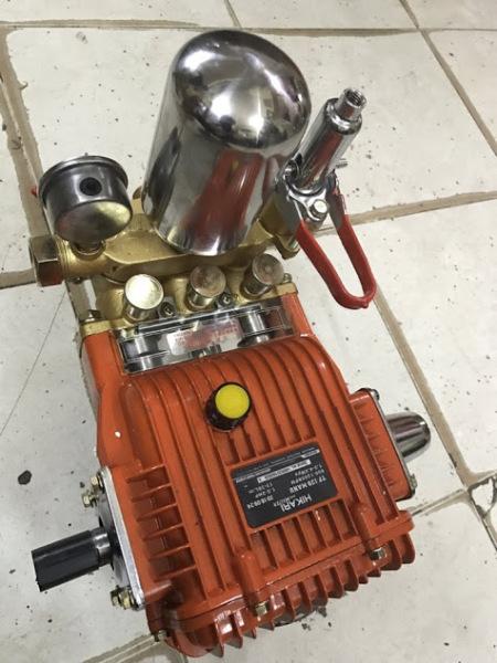 Đầu máy bơm nước rửa xe cao áp Hikari 39 madein Thái lan-pít tông dài