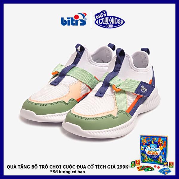Giá bán [Quà tặng bộ trò chơi cuộc đua cổ tích từ ngày 30/08] Giày Thể Thao Bé Gái Bitis DSG137000XNH (Xanh Nhớt)