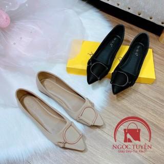 Giày búp bê Taofeidi, thiết kế tinh tế, trẻ trung, đường may tỉ mỉ, chi tiết, chắc chắn, cam kết sản phẩm như mô tả thumbnail
