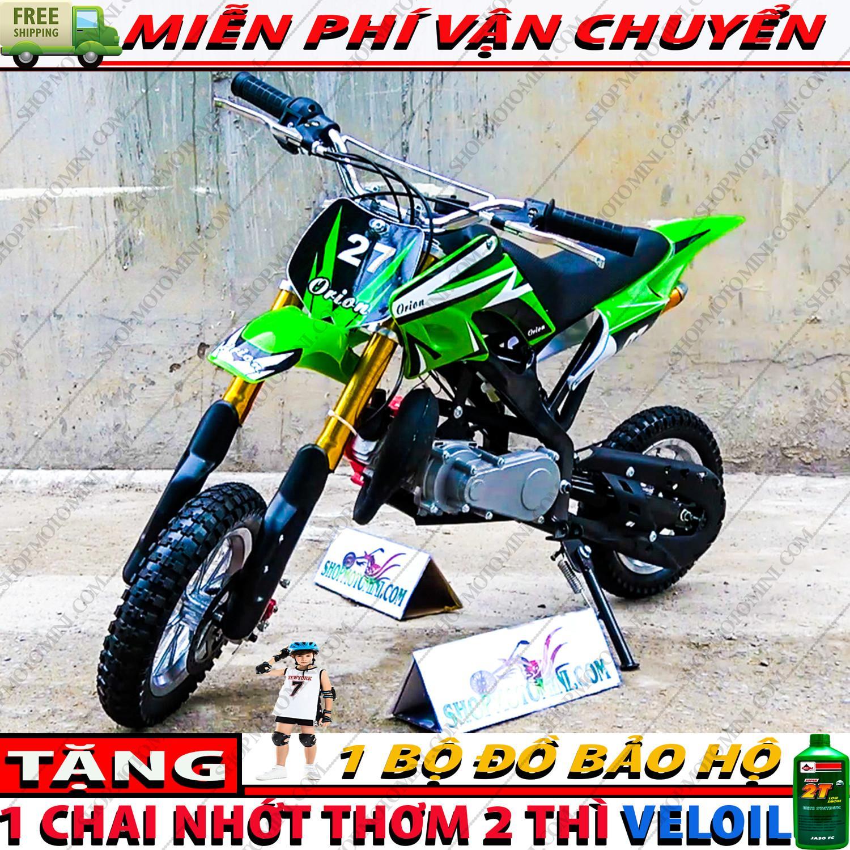 Mua xe moto cao cao mini 50cc trẻ em | cao cao 2 thì gắn máy cắt cỏ chạy bằng động cơ xăng pha nhớt 2 thì