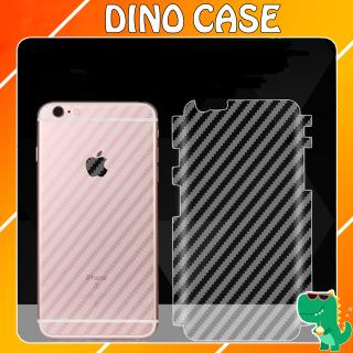 Miếng dán Carbon mặt sau cho 11 Pro 11 Pro Max X XsMax Iphone 6 6plus 7plus 8plus MIẾNG BẢO VỆ LƯNG MÁY (SKIN TRONG) thumbnail