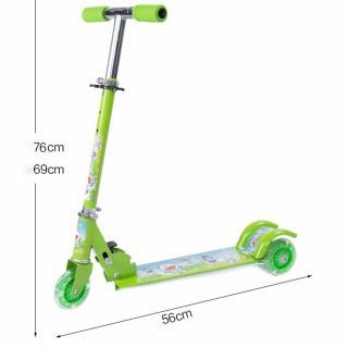Xe scooter sắt có đèn cho bé đồ chơi trẻ em xe đồ chơi xe scooter xe trượt trẻ em - đồ chơi ngoài trời - đồ chơi - đồ chơi vận động - quà tặng cho bé yêu 8