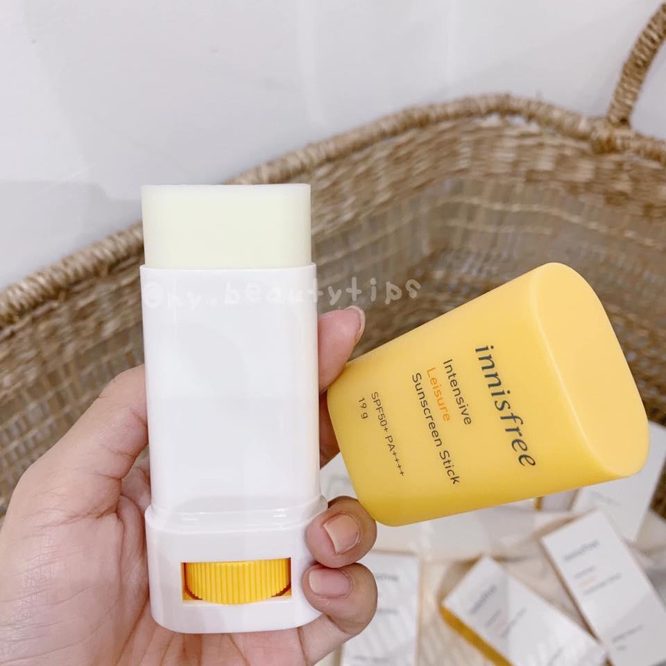 Kem Chống Nắng Dạng Thỏi Innisfree Intensive Leisure Sunscreen Stick SPF50+ PA++++ chính hãng