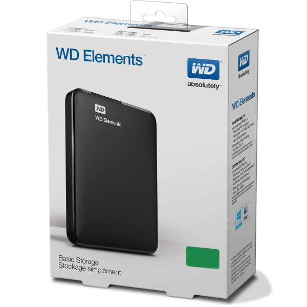 Bảng giá WD Element Ổ Cứng Ngoài Di Động Đĩa HD 2TB Dung Lượng Cao Sata USB 3.0 Phong Vũ