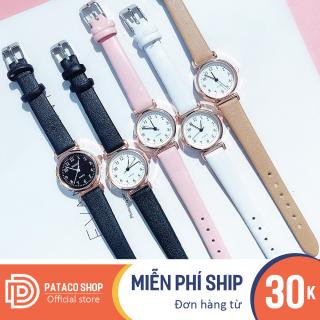 Đồng hồ nữ Huans C193 dây da cao cấp mặt số cực đẹp thumbnail