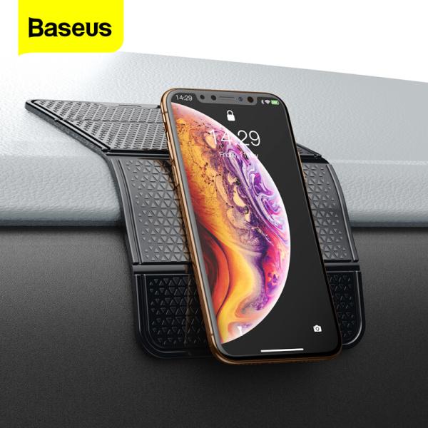 Baseus Ô tô Chống trượt Thảm Ô tô Giá đỡ điện thoại đa năng cho bảng điều khiển ô tô Tự động đa chức năng Gel dính Pad không trượt Thảm phụ kiện ô tô