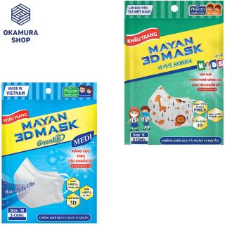 [Chính hãng] Khẩu Trang Mayan 3D Mask Greenlife Medi Chống Bụi Mịn PM 2.5 thumbnail