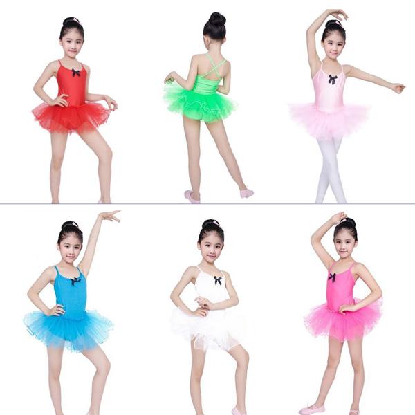 Giá bán [HOT SALE] Váy múa bale cho bé yêu, co dãn và thấm hút mồ hôi cực tốt