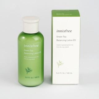 Sữa Dưỡng Trà Xanh Innisfree Green Tea Balancing Lotion EX 160ml Chính hãng Hàn Quốc (mẫu mới update)) thumbnail