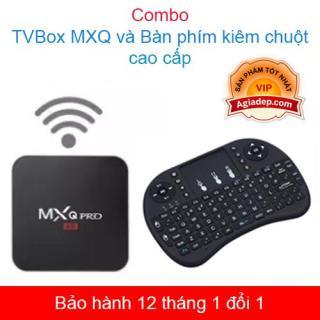 TVbox tivi box MXQ chip S905W xịn + Bàn phím Kiêm chuột mini - (0003+0004) thumbnail