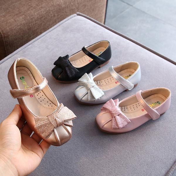 Giá bán Giày Búp Bê Đính Nơ Cho Bé Từ 3 Đến 12 Tuổi ( H818 )