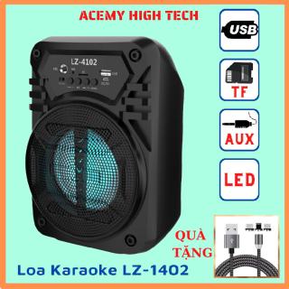 [FREESHIP+QUÀ 35K]Loa Karaoke Bluetooth Mini Xách Tay Lz-4102 ACEMY HIGH TECH, Loa Karaoke Mini, Loa Karaoke Công Suất Lớn, Loa Karaoke Gia Đình, Loa Kẹo Kéo, Loa Karaoke Bluetooth Công Suất Lớn thumbnail