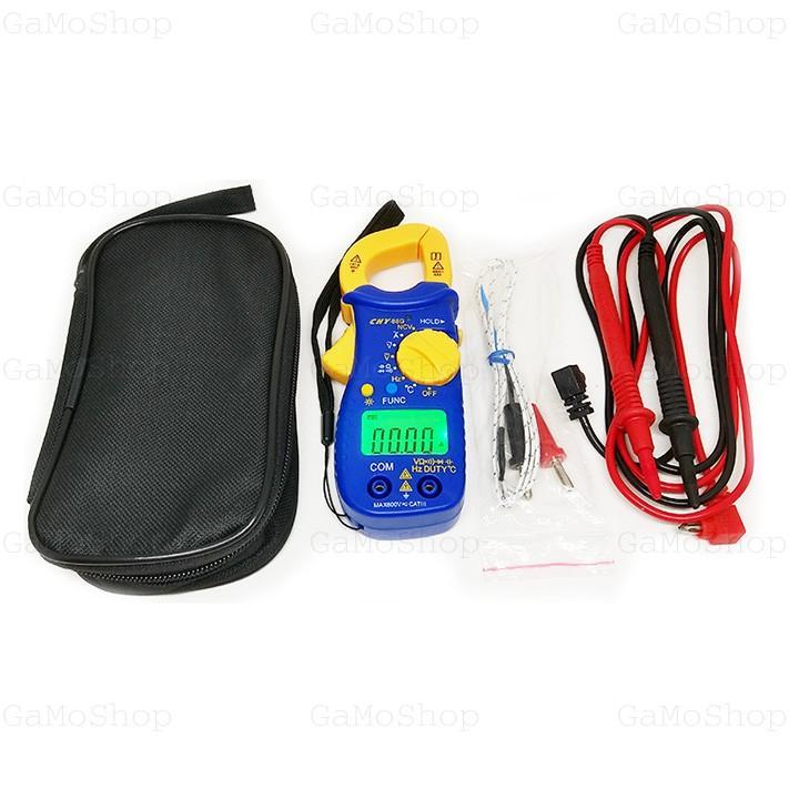 Ampe kìm CHY 88G chức năng NCV, đo tụ, nhiệt độ, tần số Hz