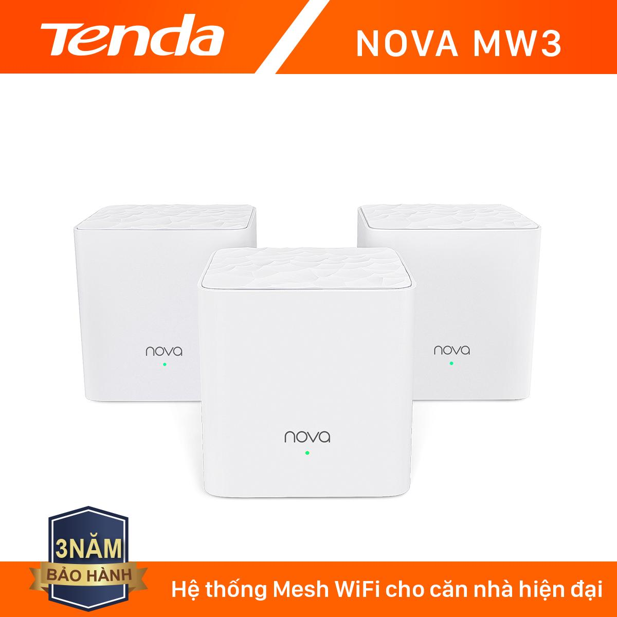 Giá Tenda Hệ thống Wifi Nova Mesh cho gia đình MW3 Chuẩn AC 1200Mbps - Hãng phân phối chính thức