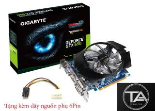 Cạc hình Gigabyte GTX 650 1G/D5 chiến game LOL, Dota, GTA, CF