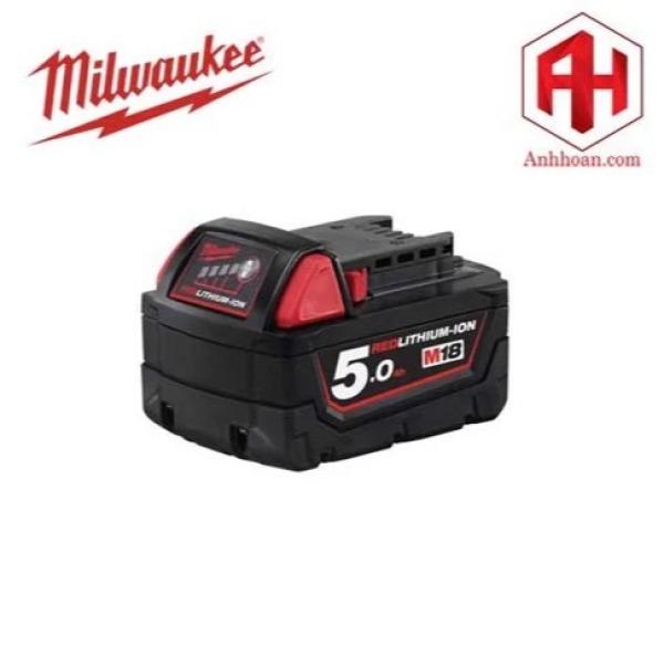 Milwaukee Pin Li-Ion M18B5 RedLithium (18V:5Ah)