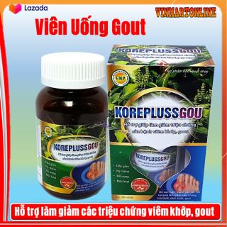 Viên uống Bổ Xương khớp Korepluss Gout , hỗ trợ làm giảm đau nhức do Gout- hộp 50 viên thumbnail