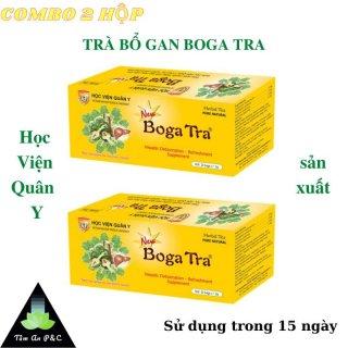 (Combo 2 hộp) Trà thảo dược bổ gan Bogatra Học Viện Quân Y- Thải độc gan, tăng cường chức năng gan- CHÍNH HÃNG HỌC VIỆN QUÂN Y thumbnail