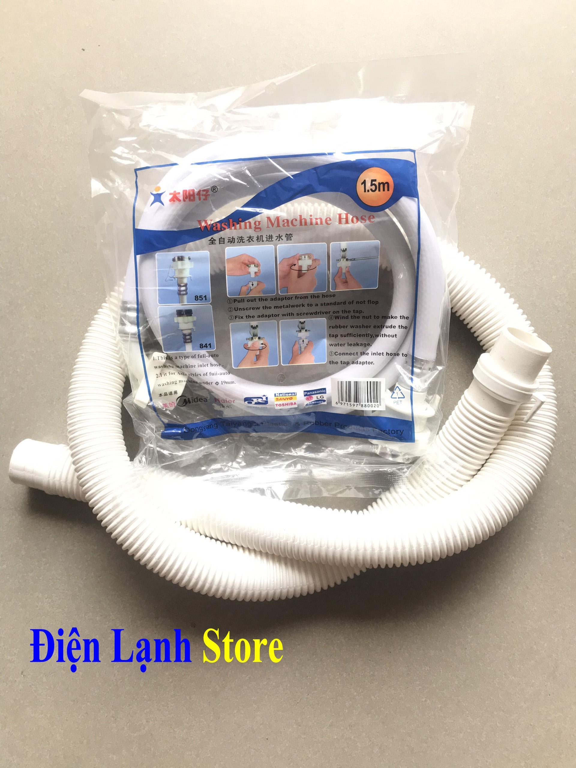 Bảng giá Combo bộ dây cấp, thoát nước dành cho các loại máy giặt loại tốt Điện máy Pico
